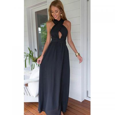 Navy Blue Prom Dresses, Sexy Prom Dresses,Long Prom Dress 2016 New Arrival,Halter Neckline Prom Dresses, Evening Gowns, Beach Prom Dresses Backless,Prom Dresses,Custom Made