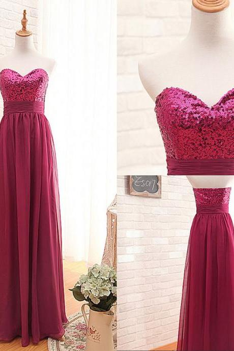 Prom Dresses,Prom Dresses,Burgundy Prom Dresses,Strapless Prom Dress,Long Prom Dress