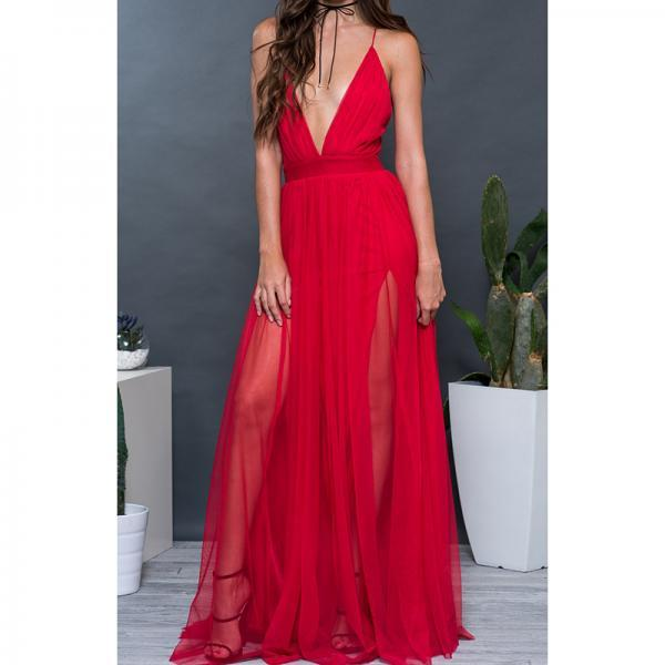 Prom Dresses, Red Prom Dresses, Sexy V-Neck Prom Dress, Long Prom Dresses, Sexy Backless Black Prom Dresses, Sexy Evening Dresses, Pageant Dresses, Wedding Party Dresses, 2017 Prom Dresses, Custom Made, Prom Dress 2017